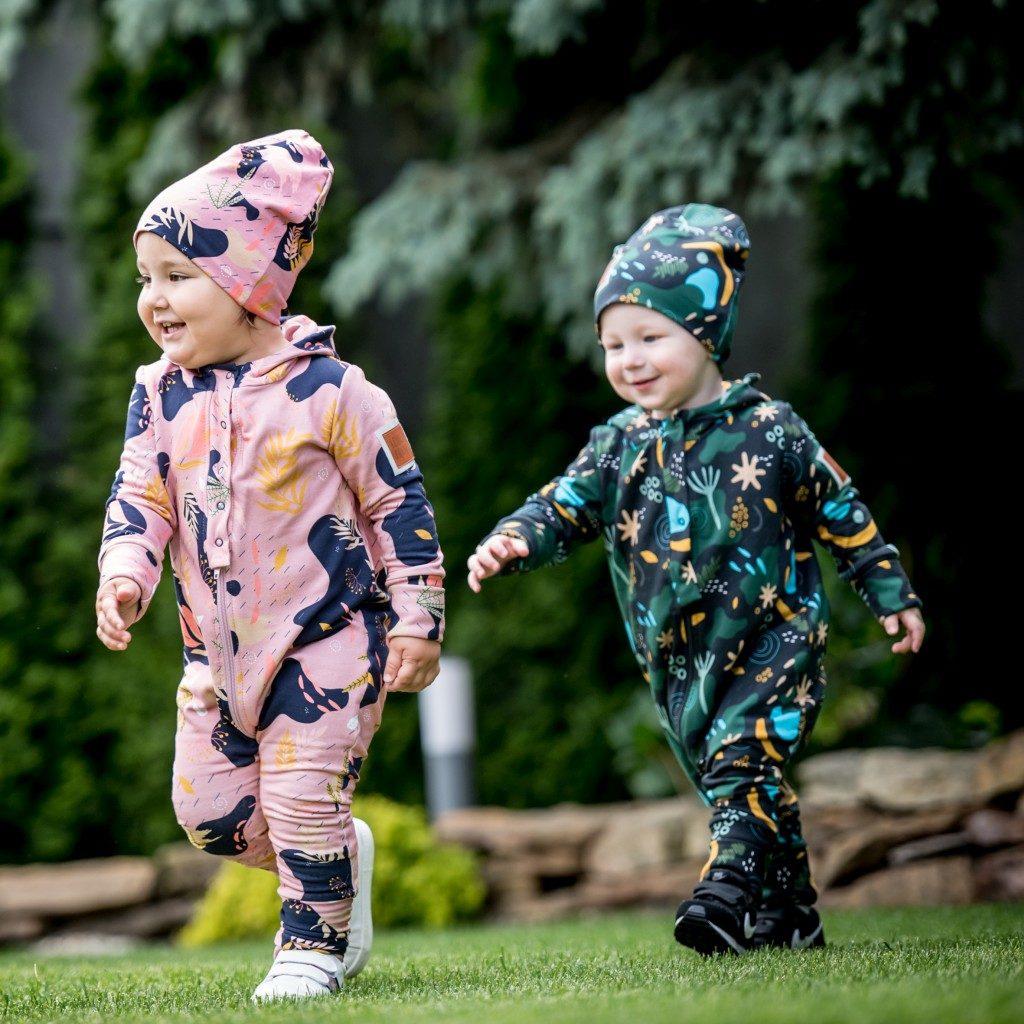 rampers dla chłopca i dziewczynki