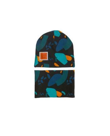 komplet czapka + komin