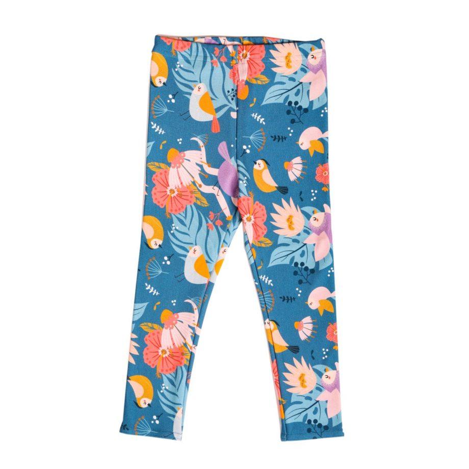 Bardzo wygodne legginsy wykonane ze średniej grubości bawełny dresowej z nieuciskającą gumką, idealne na wiosnę i lato.