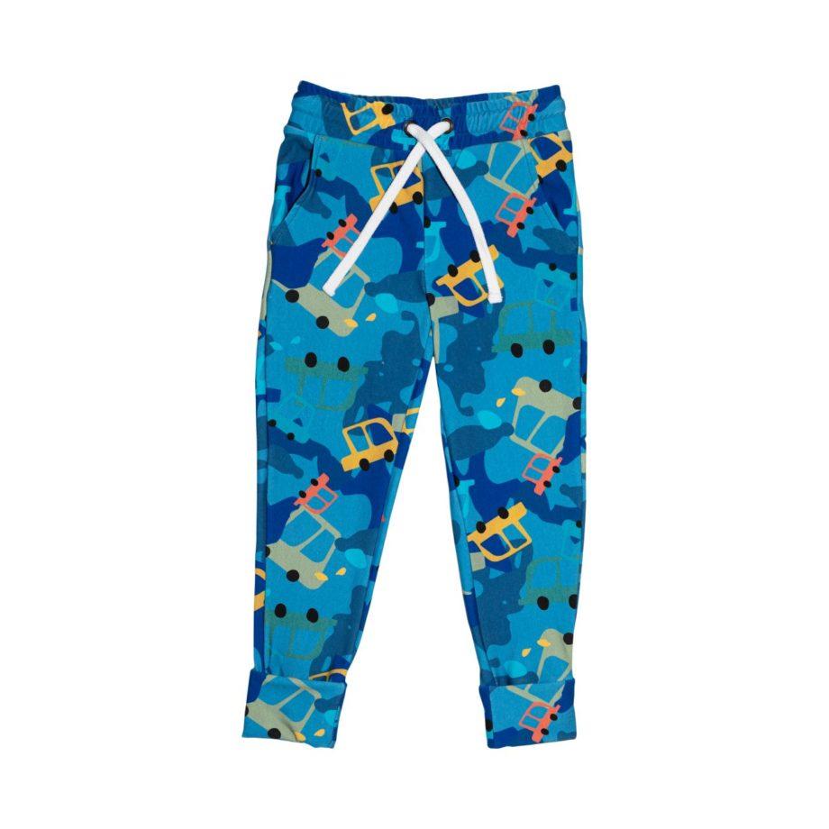 Bardzo wygodne spodnie dresowe dla chłopców, rosnące z dzieckiem, idealne na wiosnę. Starczą na min. 3 rozmiary.