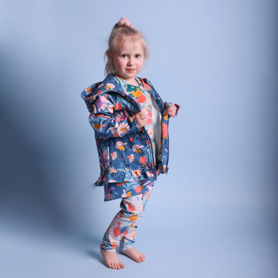 Rozpinana bluza dla dziewczynki, piekne wzory, ROŚNIJ PIĘKNIE!
